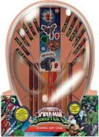 Marvel ultimate Spiderman vs Sinister 6 Shaped Art Case. Colouring and stickers